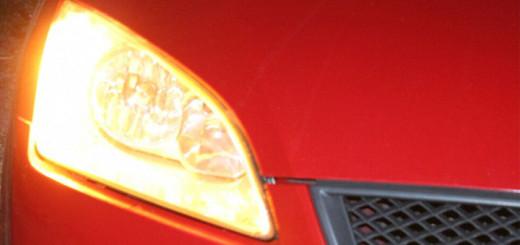 Las luces del coche