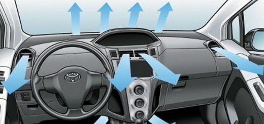 aire acondicionado del vehiculo