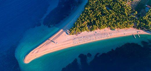 Playa Zlatni Rat Croacia