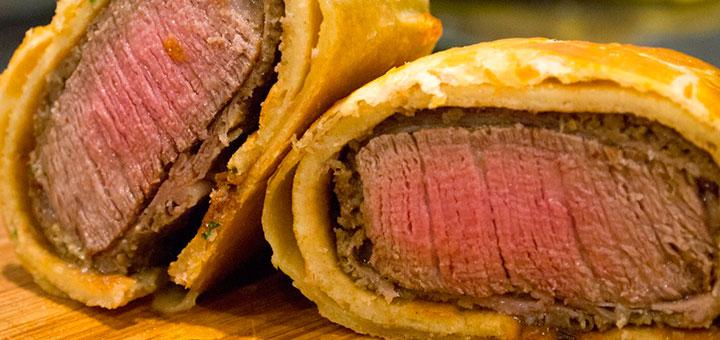 Wellington beef