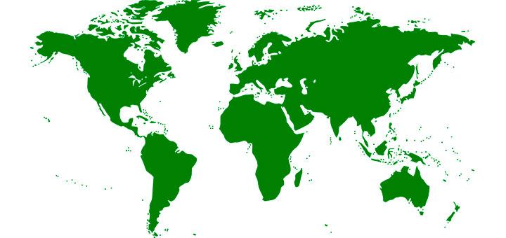 Países más grandes del mundo